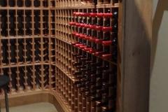 Corner Wine Racking