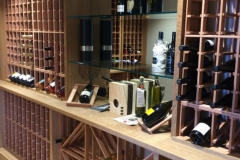 Detailed Wine Rack System