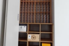 Wood Case Racking